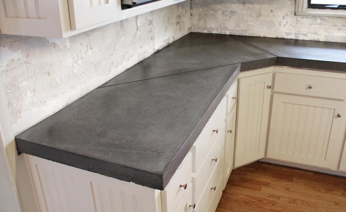 Uncategorized Cement Kitchen Countertop kitchen counter design options jackie syvertsen