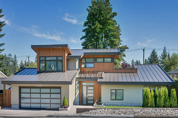 Home roof styles home design and style for Images of houses with metal roofs