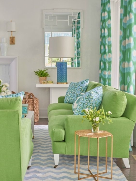 Don't be afraid to mix other colors! There are a myriad of ways to use Greenery. Visit Pantone for color pairing suggestions and inspiration.